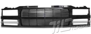 92 99 CHEVY TAHOE/SUBURBAN 1500 2500 VERTICAL BLACK GRILL GRILLE 93 94