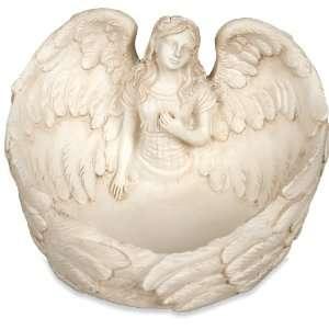 Angelstar Healing Angel Trinket Dish, 4 1/2 Inch Wide