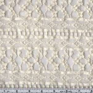 56 Wide Lace Bella Donna Cream Fabric By The Yard Arts
