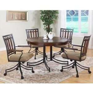 5 PC DINING ROOM DESTIN SET BY POWELL: Home & Kitchen