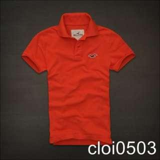 HOLLISTER MENS Polo Little Dume SHIRT T Shirt Top NEW