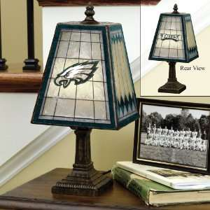 14 NFL Philadelphia Eagles Football Stained Glass Table