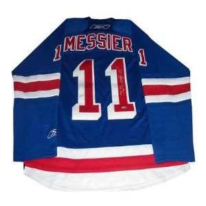 Mark Messier New York Rangers Blue Replica Jersey w/ 94