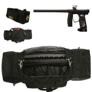 Bag Gearbag Wih Inver Mini Black Painball Gun Spors & Oudoors