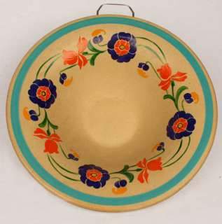 RIDGWAYS POTTERY HAND PAINTED BEDFORD WARE BOWL ENGLAND |