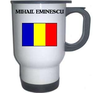 Romania   MIHAIL EMINESCU White Stainless Steel Mug