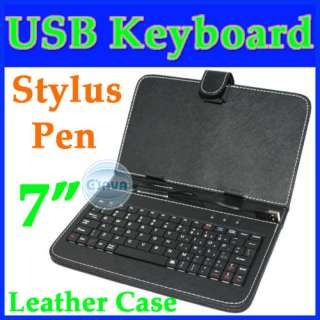 Universal Leather Case cover bag for Ebook Reader Tablet PC MID