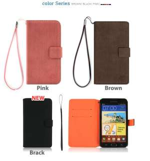 Samsung Galaxy S2 I9100 Protective Cell Phone Leather Diary Case Cover
