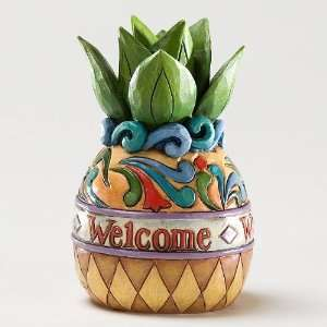 Enesco Jim Shore Heartwood Creek Mini Welcome Pineapple