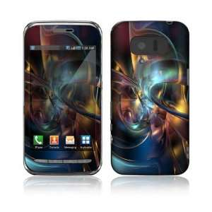 3D SH 03C Decal Skin Sticker   Abstract Space Art