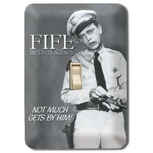 (4x5) Mayberry Barney Fife Bloodhound Light Switch Plate