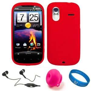 Protective Skin Cover for T Mobile HTC Amaze 4G Android 4.3 inch qHD