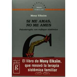 sistemico (Spanish Edition) (9788474325782): Mony Elkaim: Books
