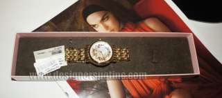 New Juicy Couture Gold Fairy Tale Watch Warranty Plus Rectangular Box