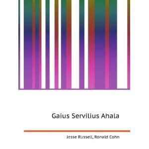 Gaius Servilius Ahala Ronald Cohn Jesse Russell Books