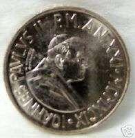 POPE JOHN PAUL II / CHILDREN VATICAN 100 L 99 COIN UNC