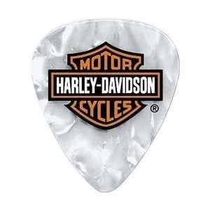 Dunlop Harley Davidson Pearloid Guitar Picks 6 Pack, Light