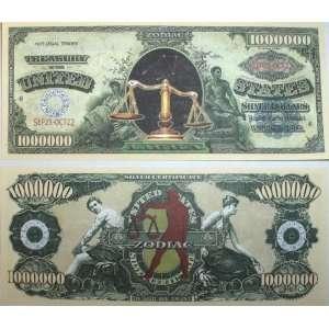Set of 10 Bills Libra Million Dollar Bill Toys & Games
