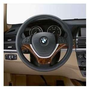 BMW Wood Steering Wheel Cover  Light Poplar   X5 SAV 2007