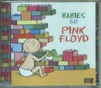 PINK FLOYD BABIES GO SEALED CD FOR CHILDREN LULLABY