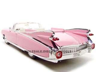 1959 CADILLAC ELDORADO BIARRITZ PINK 1:18 DIECAST MODEL