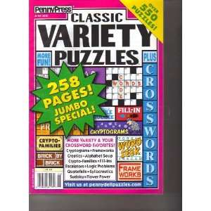 com Classic Variety Puzzles (Penny Press, June 2010) Various Books