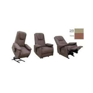 Manchester Lift Chair, Micro Suede   Chocolate + FREE