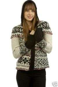 Nwt Free People Patchwork Fair Isle Cardigan Sweater Xs