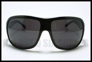 DG Oversized Fashion Designer Sunglasses BLACK with Blue Stripe