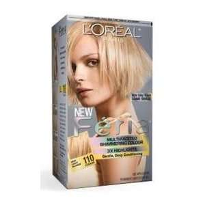 Loreal Feria Hair Color Gel #110 Very Light Beige Blonde