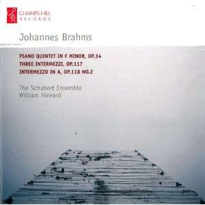 Piano Quintet in F Minor / Three Intermezzi