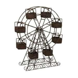 IMAX 67108 Ferris Wheel Basket Planter Patio, Lawn & Garden