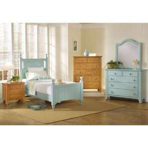 Alexander Julians Cottage Youth Poster Bedroom Set (Robins Egg Blue