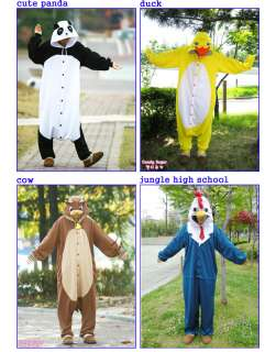 Kigurumi Animal Character Costume Cosplay Pajama NEW ORIGINAL