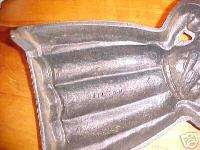 large black mammy painted cast iron door stop Wilton