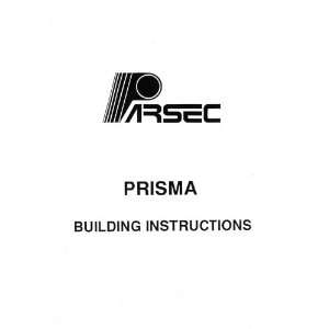 Parsec PRISMA 1/10 gas car instruction manual Parsec Books