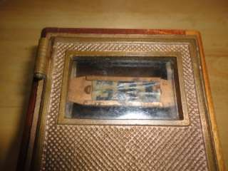 VINTAGE,ANTIQUE HAND CRAFTED SAFE/BANK BY FRANK STUART