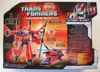 TRANSFORMERS UNIVERSE AUTOBOT BLADES VOYAGER CLASS