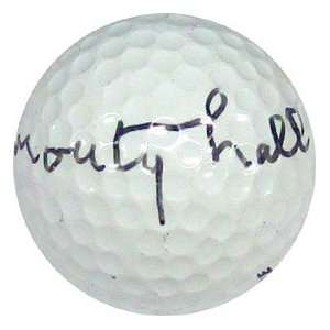 Monty Hall Autographed / Signed Golf Ball
