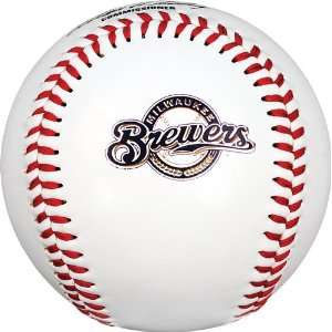 MLB Milwaukee Brewers K2 Baseball with Team Logo: Sports