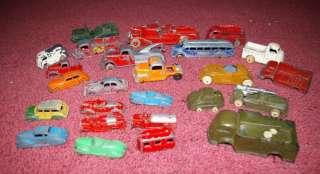 Large FUN lot Pre War Tootsie Barclay Toys Trucks Cars