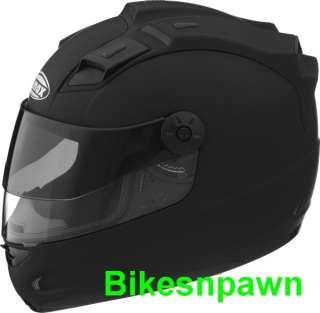 3XL GMax GM68S LED Max Flat Black Motorcycle Helmet
