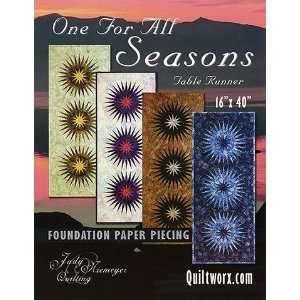 Seasons Table Runner Pattern   Judy Niemeyer Arts, Crafts & Sewing