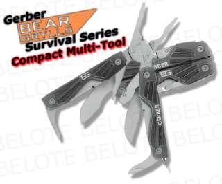 Gerber Bear Grylls Compact Multi Tool 10in1 31 000750
