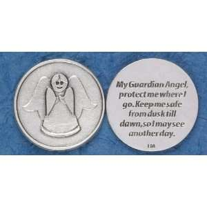 Catholic Coins My Guardian Angel Protect Me Kitchen