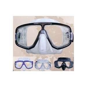 Seabrite 2 Window Low Profile Dive Mask