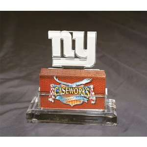 Casework New York Giants Business Card Holder  Sports
