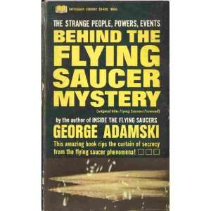 saucer mystery (Paperback library 53 439): George Adamski: Books