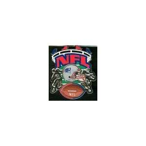 New England Patriots Helmet and Player Pin Sports