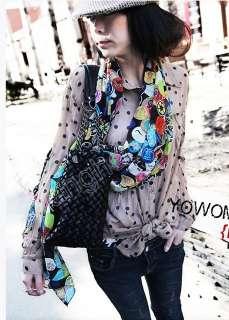 Graffiti Fashion Soft Stole Scarf Shawl Wrap Women 71